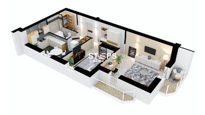 3d floor plan services StepsAnimation