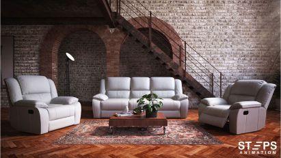 3d interior rendering service StepsAnimation