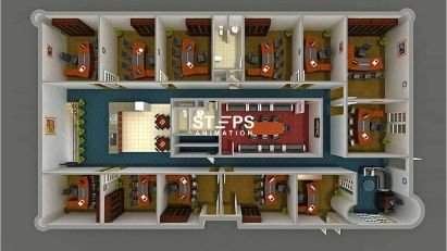floorplan 3d home StepsAnimation