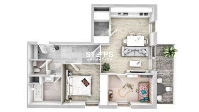 rendering floor plan StepsAnimation