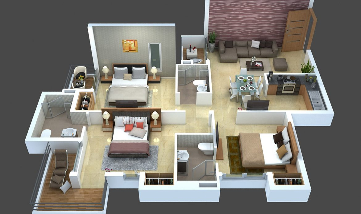 Rendering Floor Plan StepsAnimation